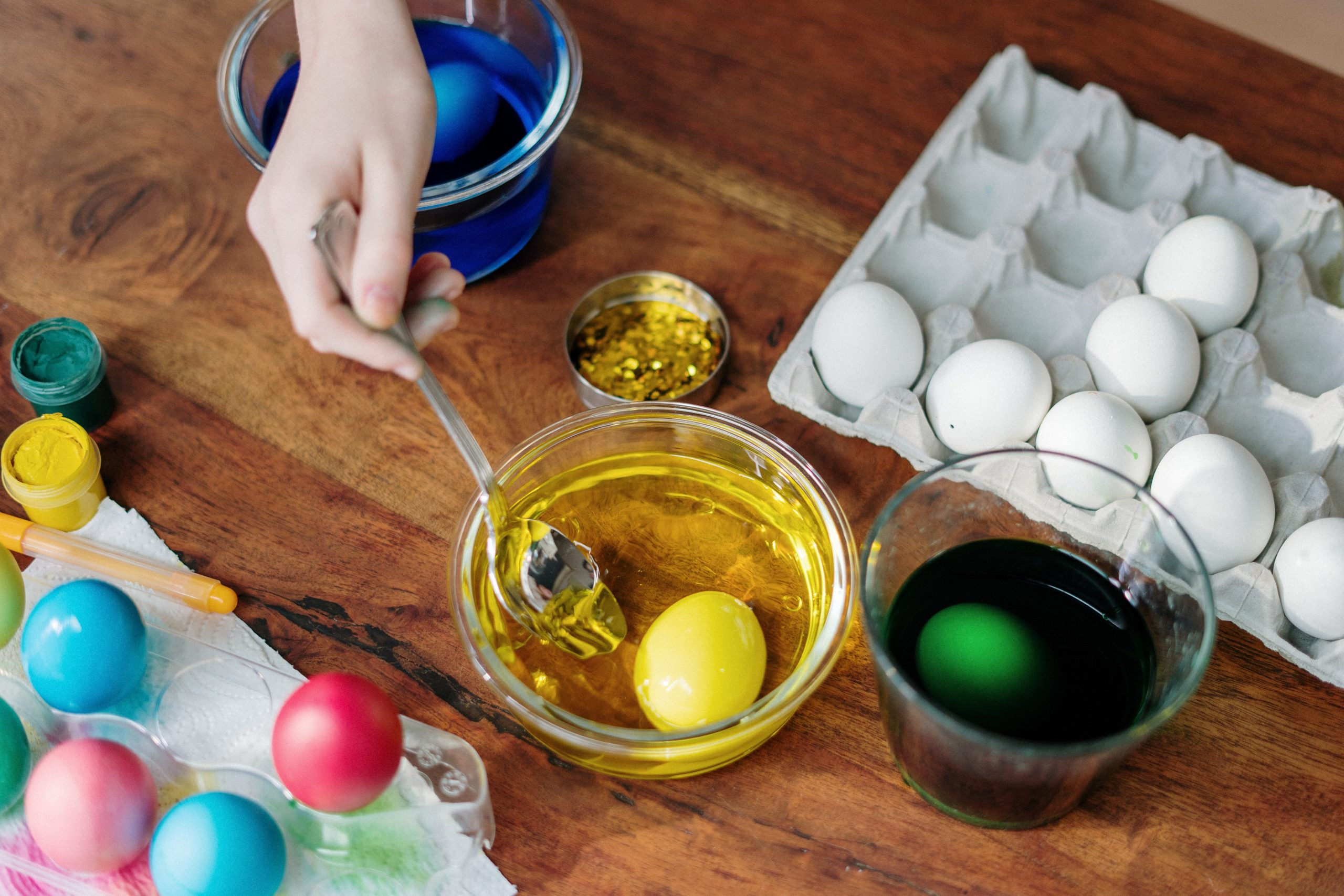 Colorazione uova