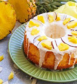 Chiffon cake ananas e cocco